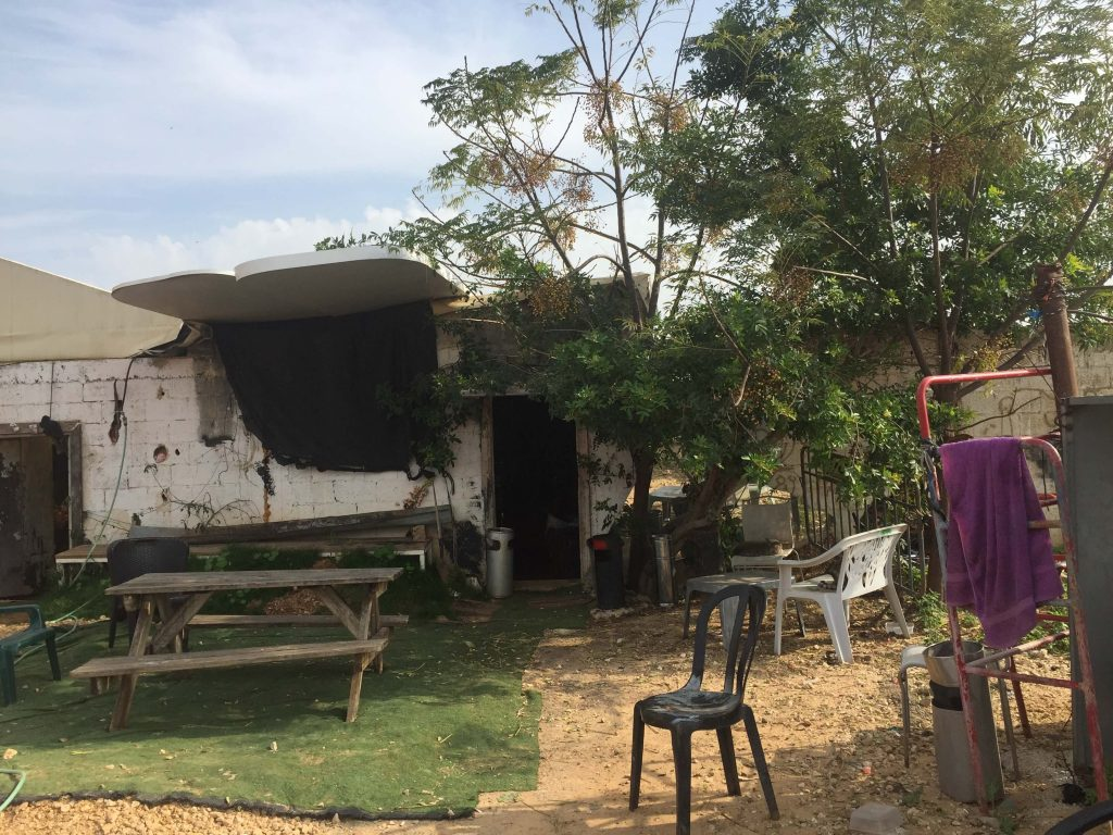 בית משפחת אל חאג', צילום:אורנה חושפת