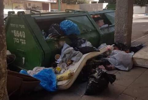 מכולת האשפה ברחוב ברט השבוע