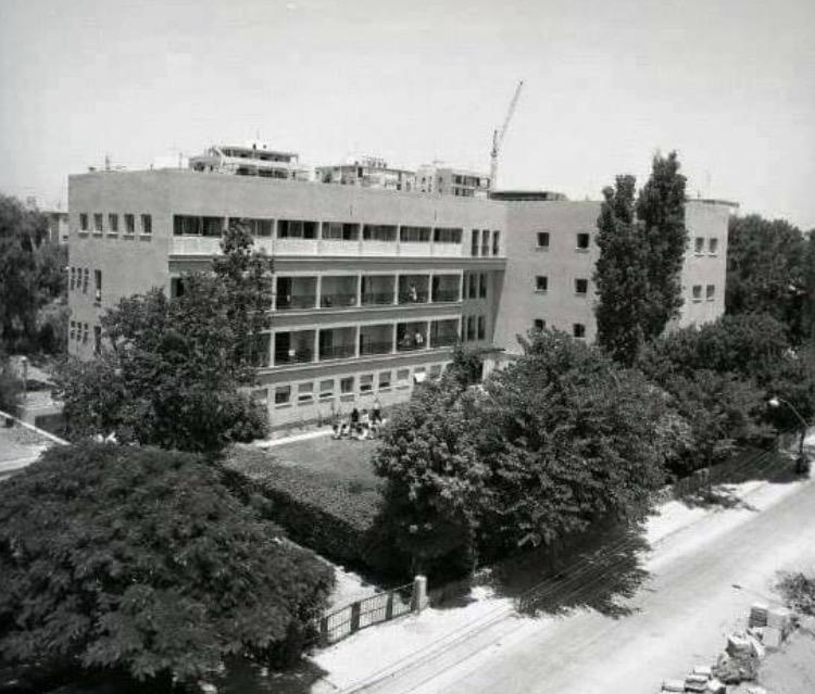 """בית לנ""""י בשנות החמישים של המאה הקודמת, תמונה באדיבות מוזיאון נתניה"""