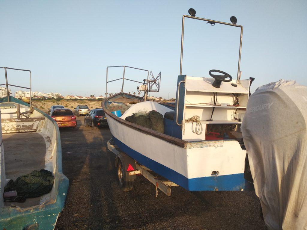 סירות הדייגים, צילום: אורנה חושפת