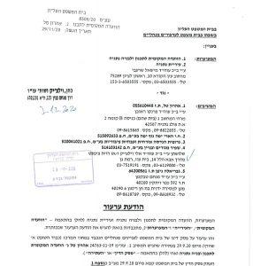 העירייה ערערה לעליון בשם הוועדה המקומית ללא ידיעת חברי הוועדה