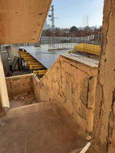מדרגות יציאת החירום הפכו למפגע והושבתו