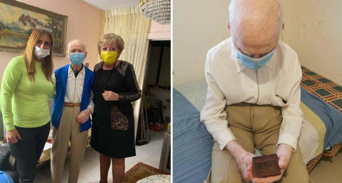 העמותה מסרה את חשבון הבנק שלה אך ניצול השואה לא זקוק לתרומות